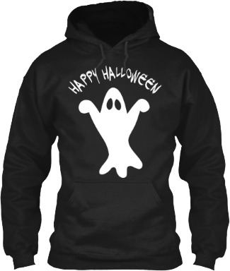 Happy Halloween Ghost Hoodie