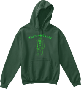 kid's Monster Trick or Treat Hoodie