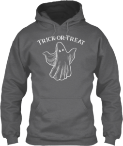Ghost Trick or Treat Hoodie