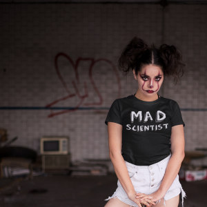 Mad Scientist Horror STEM T shirt for Halloween