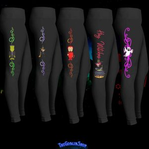 Cute Monsters Halloween Leggings Costumes