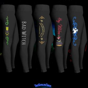 Bad Witch Leggings and Other Halloween Costume Pants