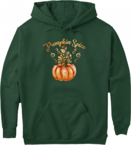 Pumpkin Spice Halloween Fall Autumn Hoodie